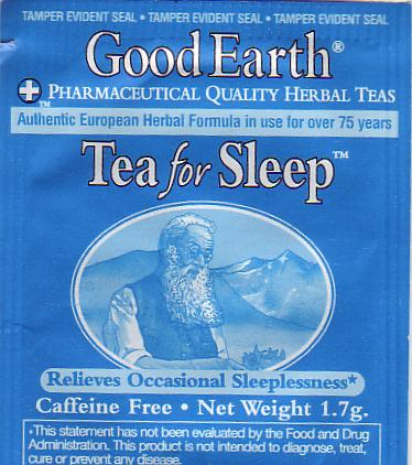 3 Tea for Sleep