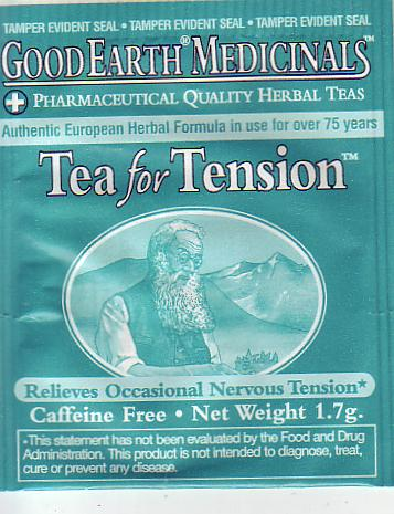 3 Tea for tension