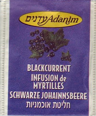 4 Blackcurrent infusion